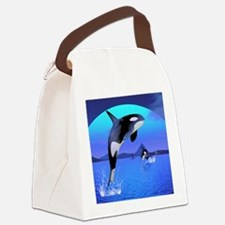orca_stadium_hell_h_front Canvas Lunch Bag