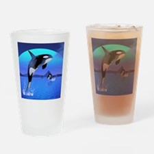 orca_stadium_hell_h_front Drinking Glass