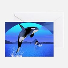 orca_stadium_hell_h_front Greeting Card