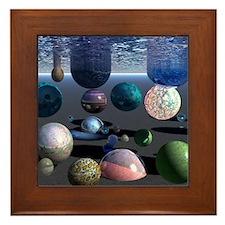 Inner Space Framed Tile