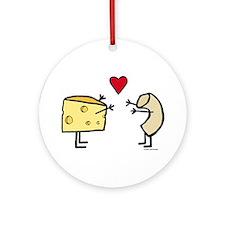 Macaroni And Cheese Ornament (Round)