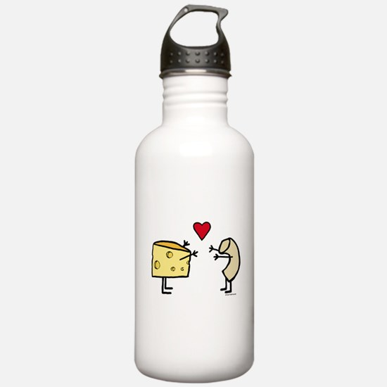 Macaroni and Cheese Lo Sports Water Bottle