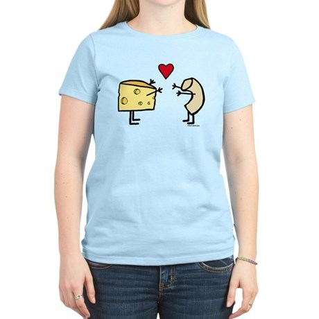 CafePress  - Macaroni and Cheese Love Women's Light T-Shirt