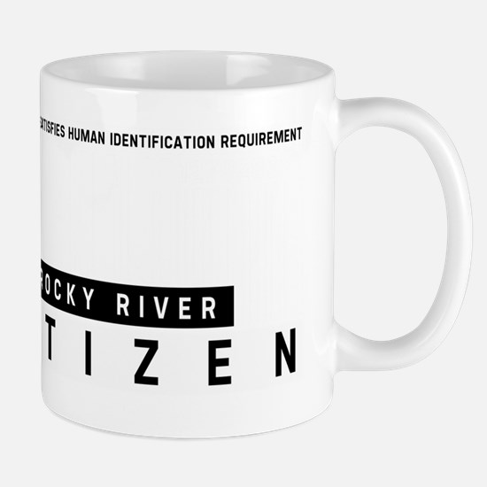 Rocky River Citizen Barcode, Mug