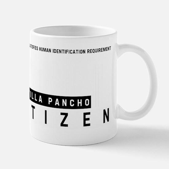 Villa Pancho Citizen Barcode, Mug