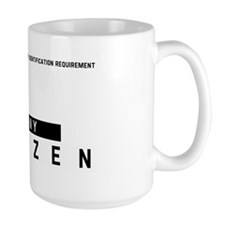 Pony Citizen Barcode, Mug