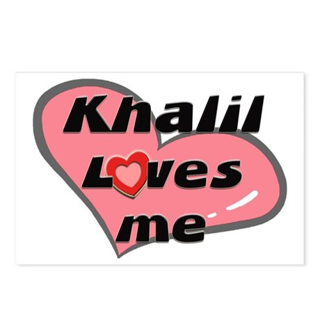 khalil loves me Postcards (Package of 8)