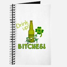 Drink Up Bitches! St. Patricks Day Journal