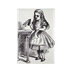Drink Me Rectangle Magnet