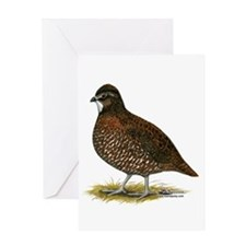 Tennessee Red Quail Greeting Cards