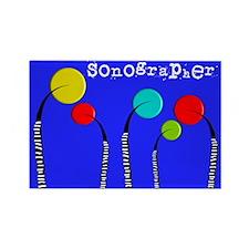 sonographer 2 Magnets