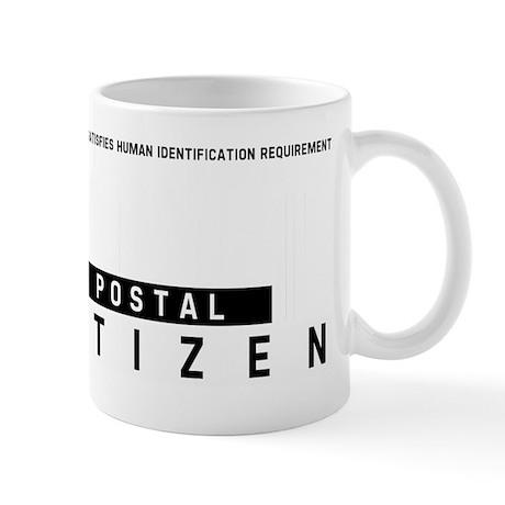 Postal Citizen Barcode, Mug