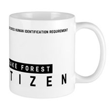 Wake Forest Citizen Barcode, Mug