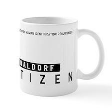 Waldorf Citizen Barcode, Mug