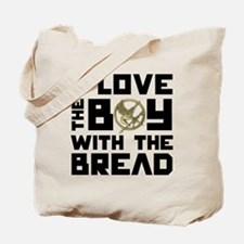 I Love The Boy With The Bread Tote Bag