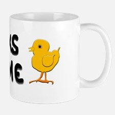"""Chicks Dig Me"" Mug"