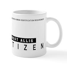West Allis Citizen Barcode, Mug
