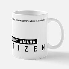 West Amana Citizen Barcode, Mug