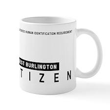 West Burlington Citizen Barcode, Mug