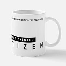 West Chester Citizen Barcode, Mug