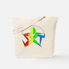 transparent logo Tote Bag