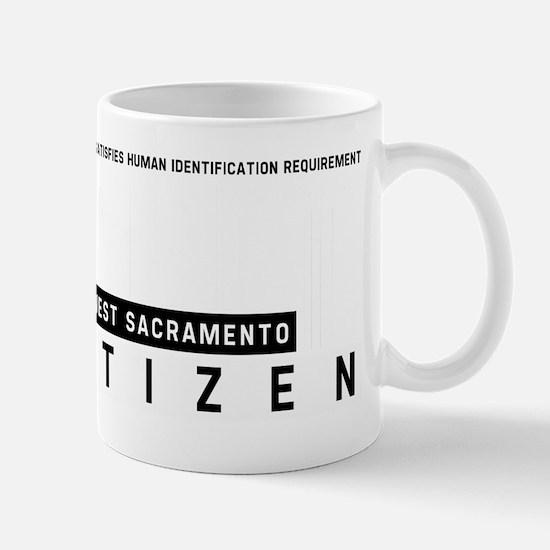 West Sacramento Citizen Barcode, Mug
