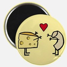 """Macaroni and Cheese Love 2.25"""" Magnet (10 pack)"""