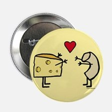 """Macaroni and Cheese Love 2.25"""" Button"""