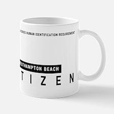 Westhampton Beach Citizen Barcode, Mug