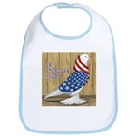 Patriotic Hobby West Bib