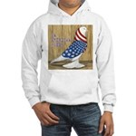 Patriotic Hobby West Hooded Sweatshirt