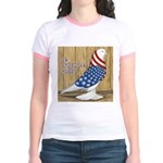 Patriotic Hobby West Jr. Ringer T-Shirt