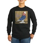 Patriotic Hobby West Long Sleeve Dark T-Shirt