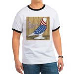 Patriotic Hobby West Ringer T
