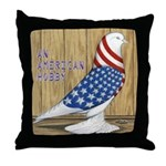 Patriotic Hobby West Throw Pillow