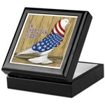 Patriotic Hobby West Keepsake Box