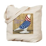 Patriotic Hobby West Tote Bag