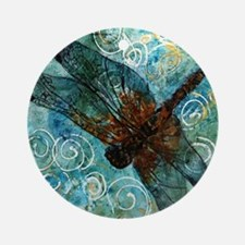 Dragonfly Dreams Round Ornament