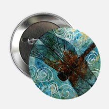 "Dragonfly Dreams 2.25"" Button"