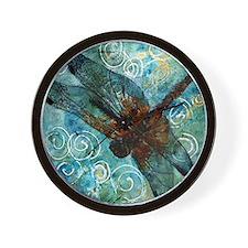 Dragonfly Dreams Wall Clock