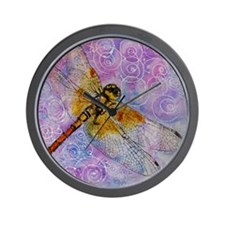 Dragonfly Darner Wall Clock