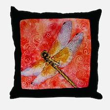 Dragonfly Destinations Throw Pillow