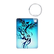 Blue Phoenix 2 Keychains