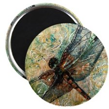 Dragonfly Dance Magnet