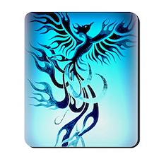 Blue Phoenix 2 Mousepad