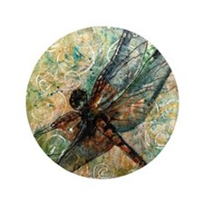 "Dragonfly Dance 3.5"" Button"