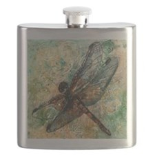 Dragonfly Dance Flask