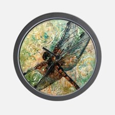 Dragonfly Dance Wall Clock