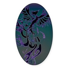 Blue Phoenix Decal