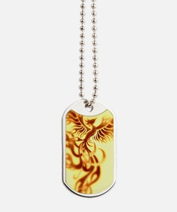 Yellow Phoenix of the old west Dog Tags